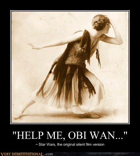 WEEKEND VIDEO: If Star Wars was a Silent Movie... E61e4110