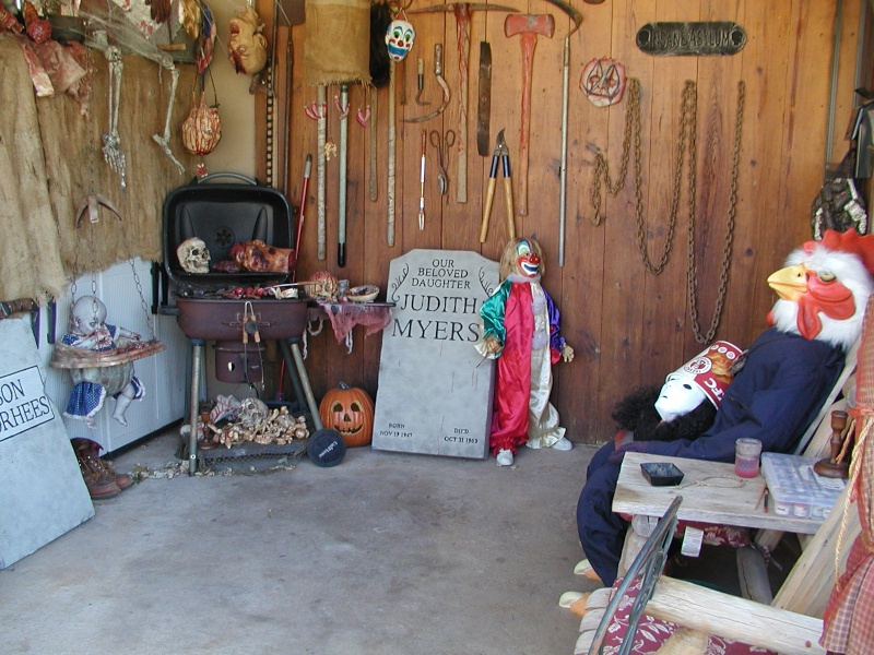 HALLOWEEN - The Chickenshack House of Horror Hallow17
