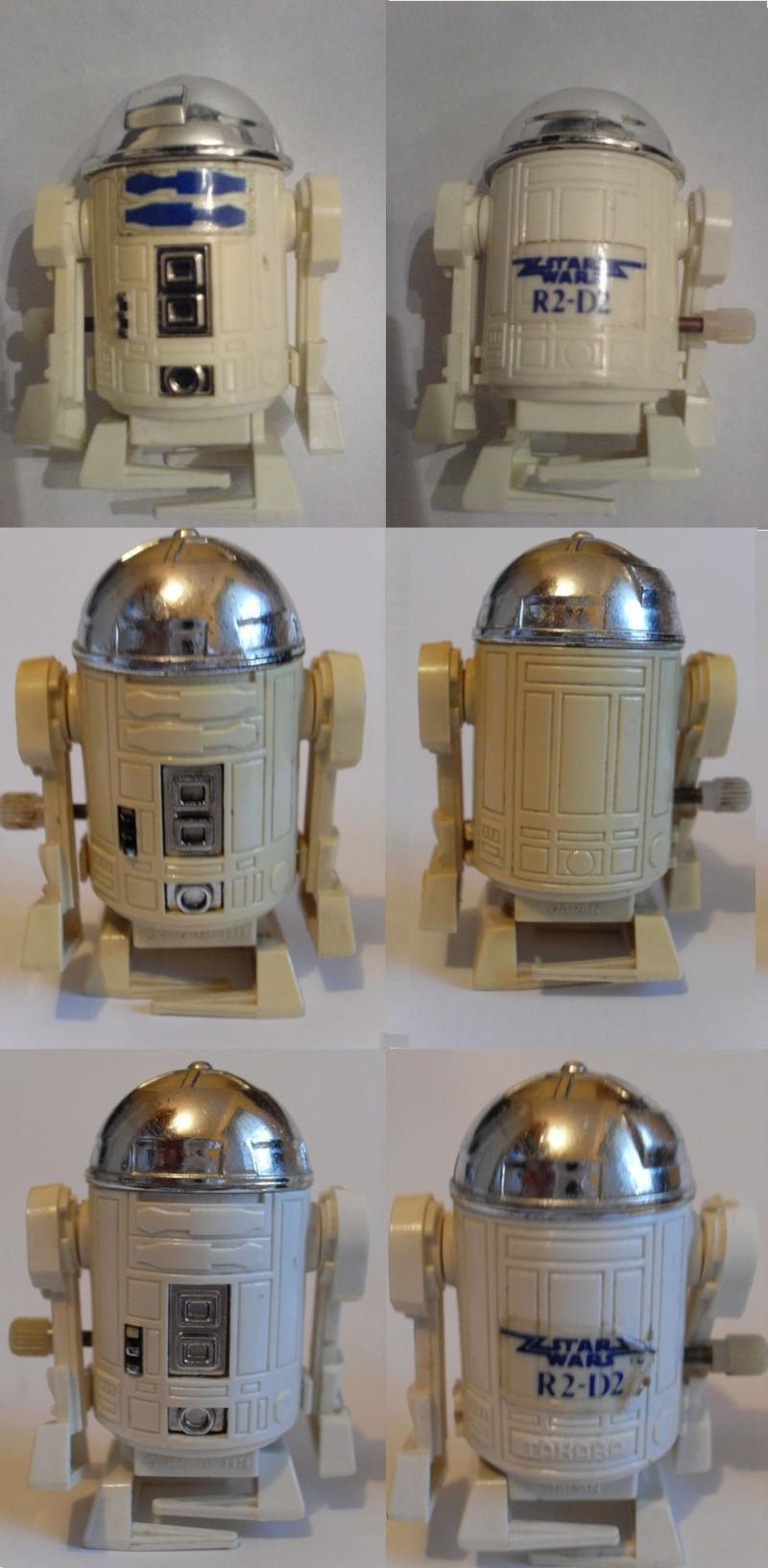 R2-D2 Wind up / walking variant. Image710