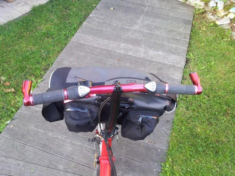 Commande de dérailleur pour 3 pignons sur une roue libre [Brompton 9 vitesses] •  20130910