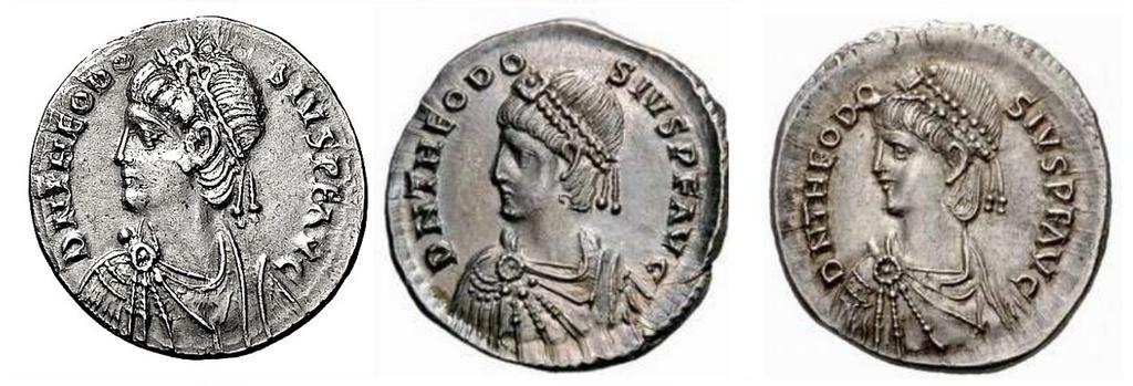 Comparaison de coins du Miliarense de Théodose II   - Page 2 Arcafo12