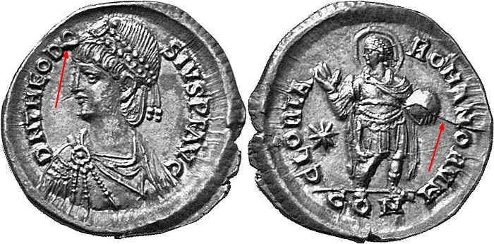 Comparaison de coins du Miliarense de Théodose II   Iko_bm10