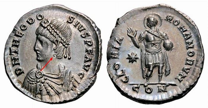 Comparaison de coins du Miliarense de Théodose II   Yuin_b10