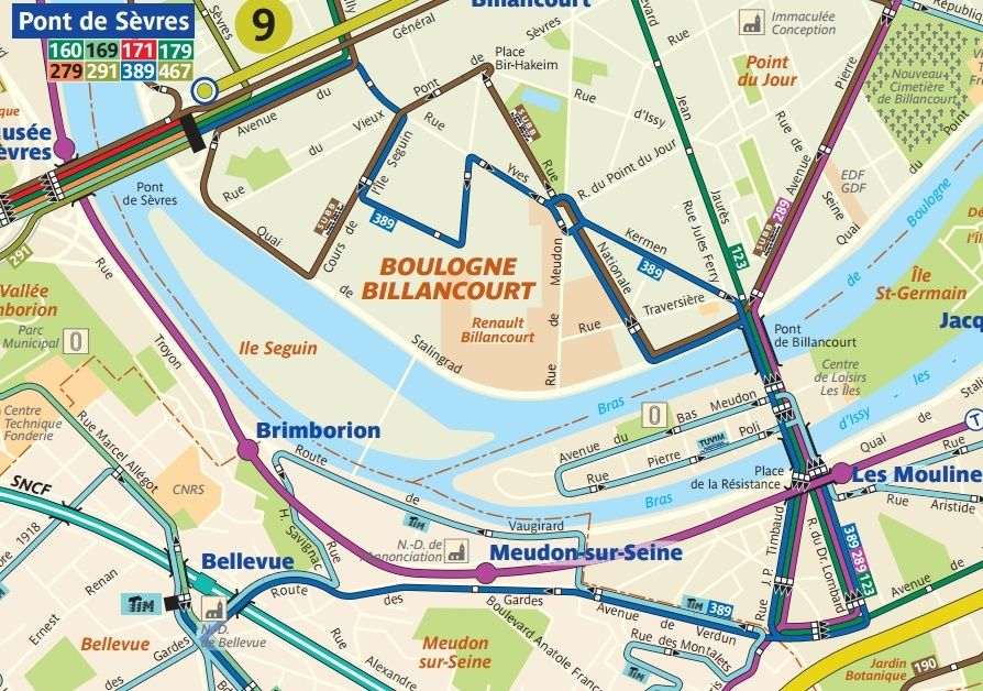 TCSP - (Tramway ou BHNS TZen) - Meudon - Boulogne (- Saint-Cloud ?) 38910