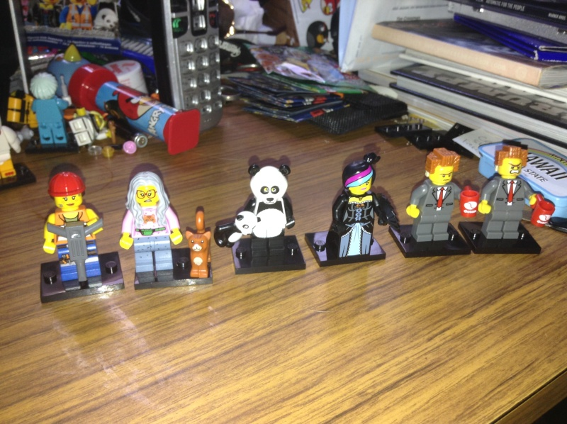The LEGO Movie Minifig Series Img_0310