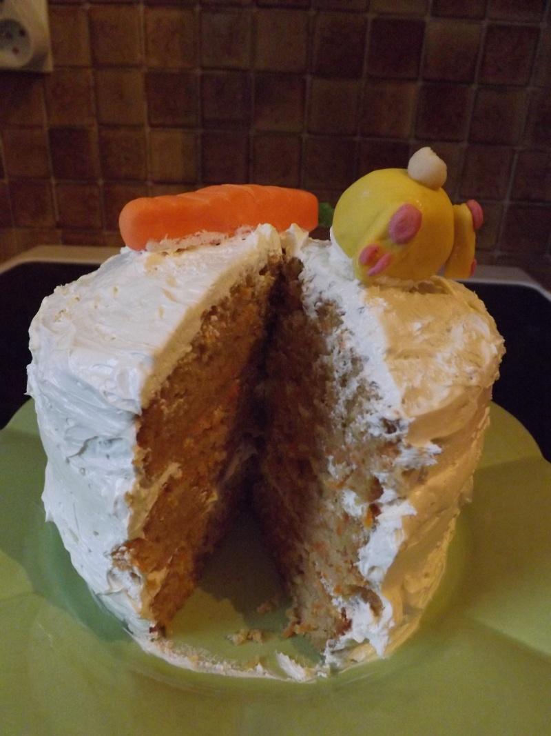 gâteau aux carottes Dscf4412