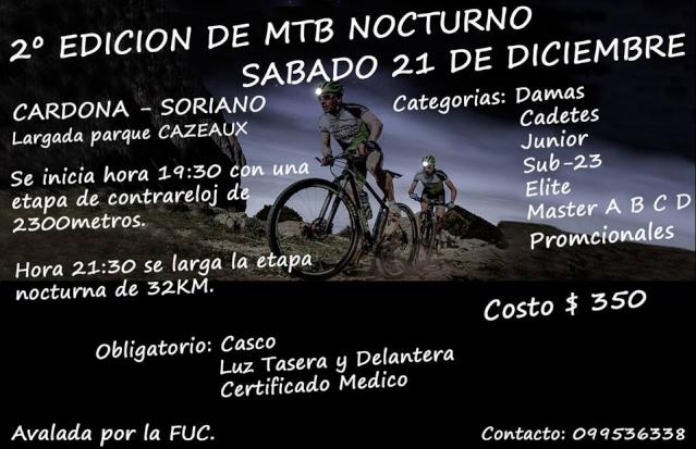2° Edición de MTB nocturno. 10039210