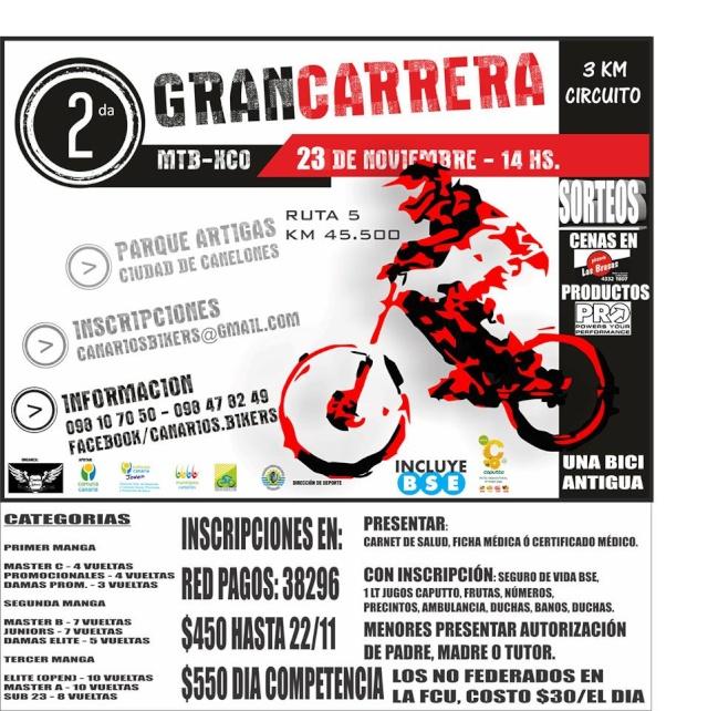 2° Gran Carrera - Canelones -  14629810