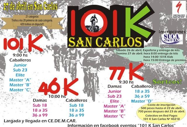 101 K de San Carlos  19749811