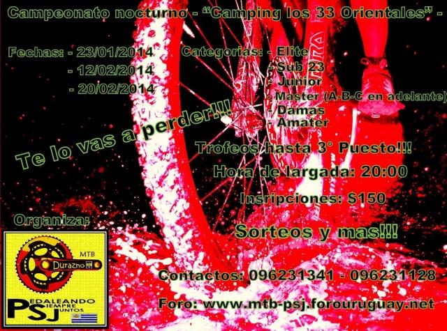 Campeonato Nocturno - Camping los 33° Orientales - Campeo10