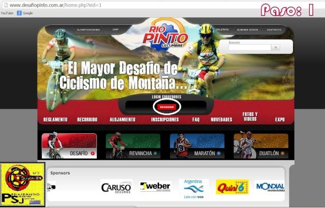 Pasos para registrarse en la pagina oficial de Rio Pinto. Captur19