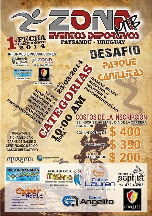 1° Fecha del Campeonato 2014 - Paysandu -  Hgv10