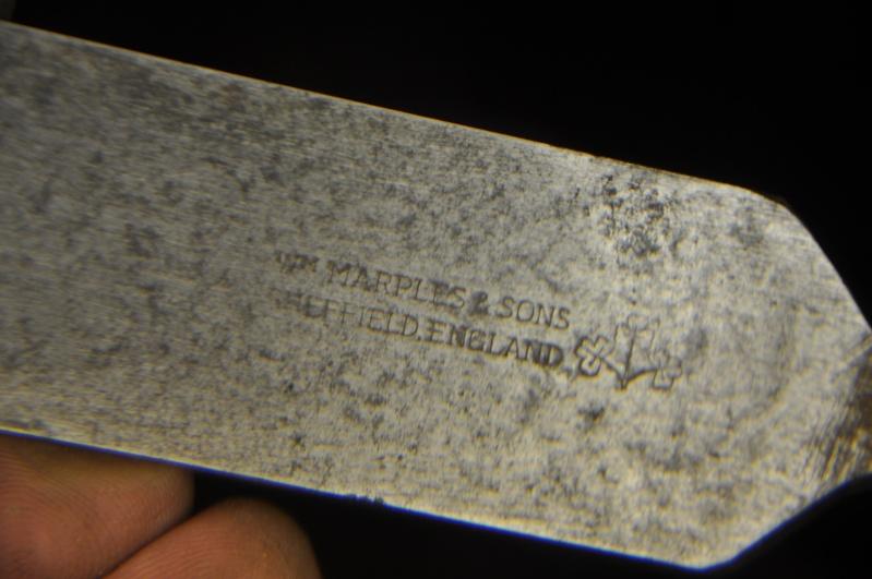 Tournage d'un manche de ciseau à bois munie d'une soie  ( turning a handle for a tang type chisel) 04911