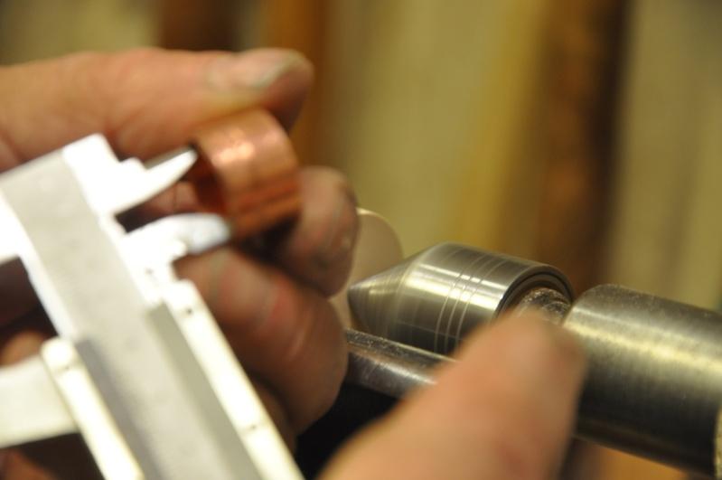 Tournage d'un manche de ciseau à bois munie d'une soie  ( turning a handle for a tang type chisel) 06910