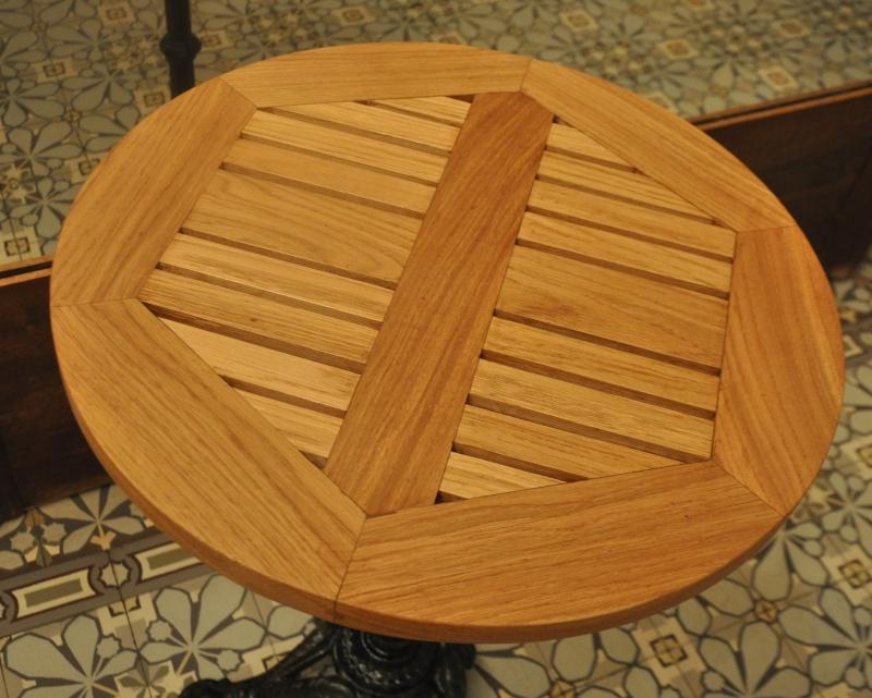 Fabrication d'un plateau  en bois pour table de bistrot - Page 6 10811