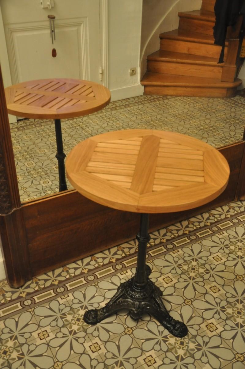 Fabrication d'un plateau  en bois pour table de bistrot - Page 6 10912