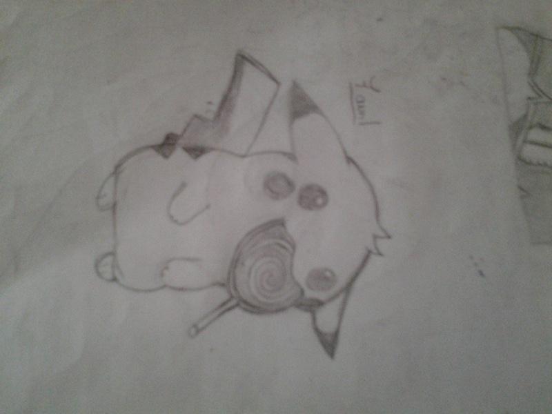 Mes dessins Pikach10