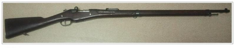 Berthier 07/15 Remington 2 Fusil11