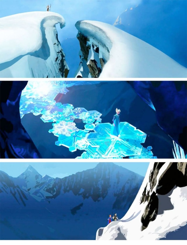Le Making-of du film : Recherches, croquis, vidéos et autres anecdotes Frozen28