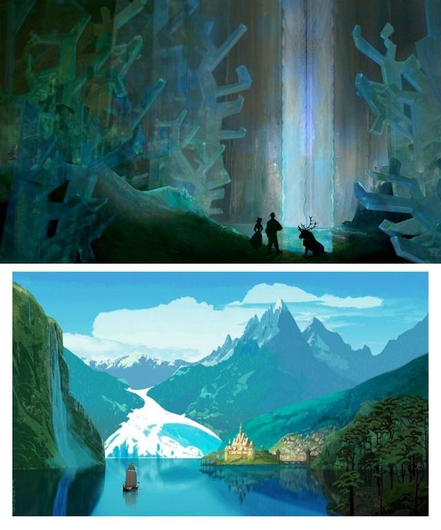 Le Making-of du film : Recherches, croquis, vidéos et autres anecdotes Frozen31