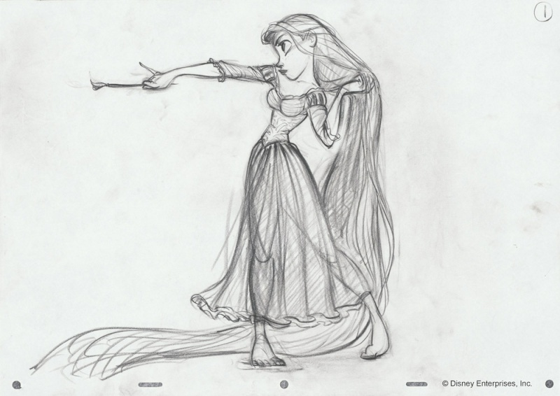 Ariel VS Raiponce Glenke10