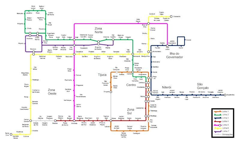 O Novo Metrô do Rio de Janeiro L0clk10