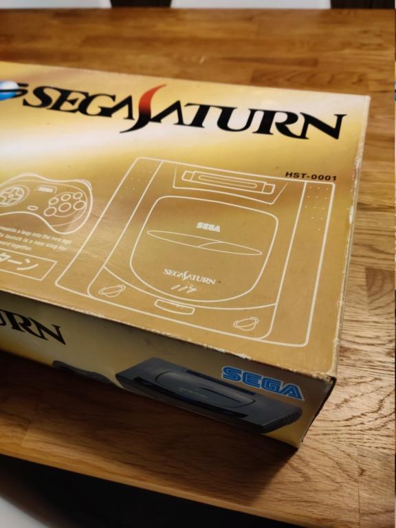 Vends Sega Saturn JAP GRISE en boite  Img_2026