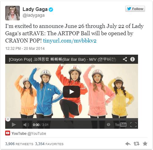 [Montréal] Crayon Pop : Lady Gaga ArtRave: The Artpop Ball (2 juillet 2014) Crayon10