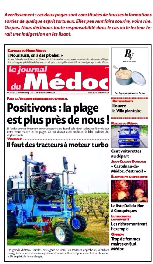 """""""C'est pas sérieux"""" ( Journal du Médoc ) Image35"""