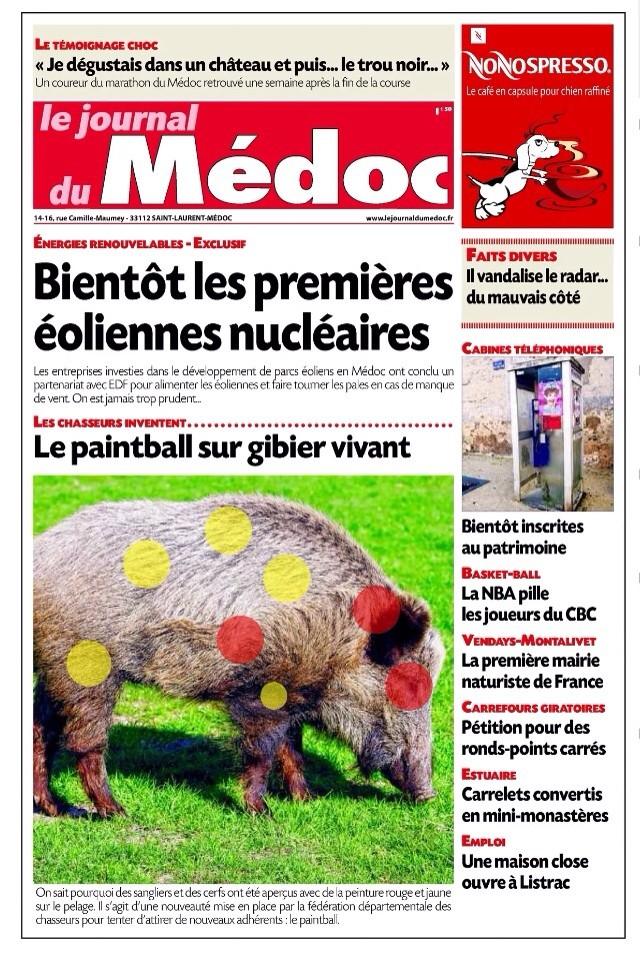 """""""C'est pas sérieux"""" ( Journal du Médoc ) Image39"""