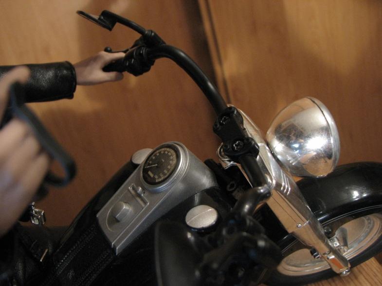 hot Toys Terminator 2 + custom harley fatboy broum broum brouuuuuum 16723713
