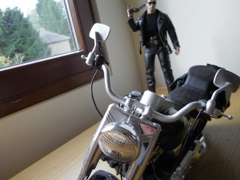 hot Toys Terminator 2 + custom harley fatboy broum broum brouuuuuum Imgp0614