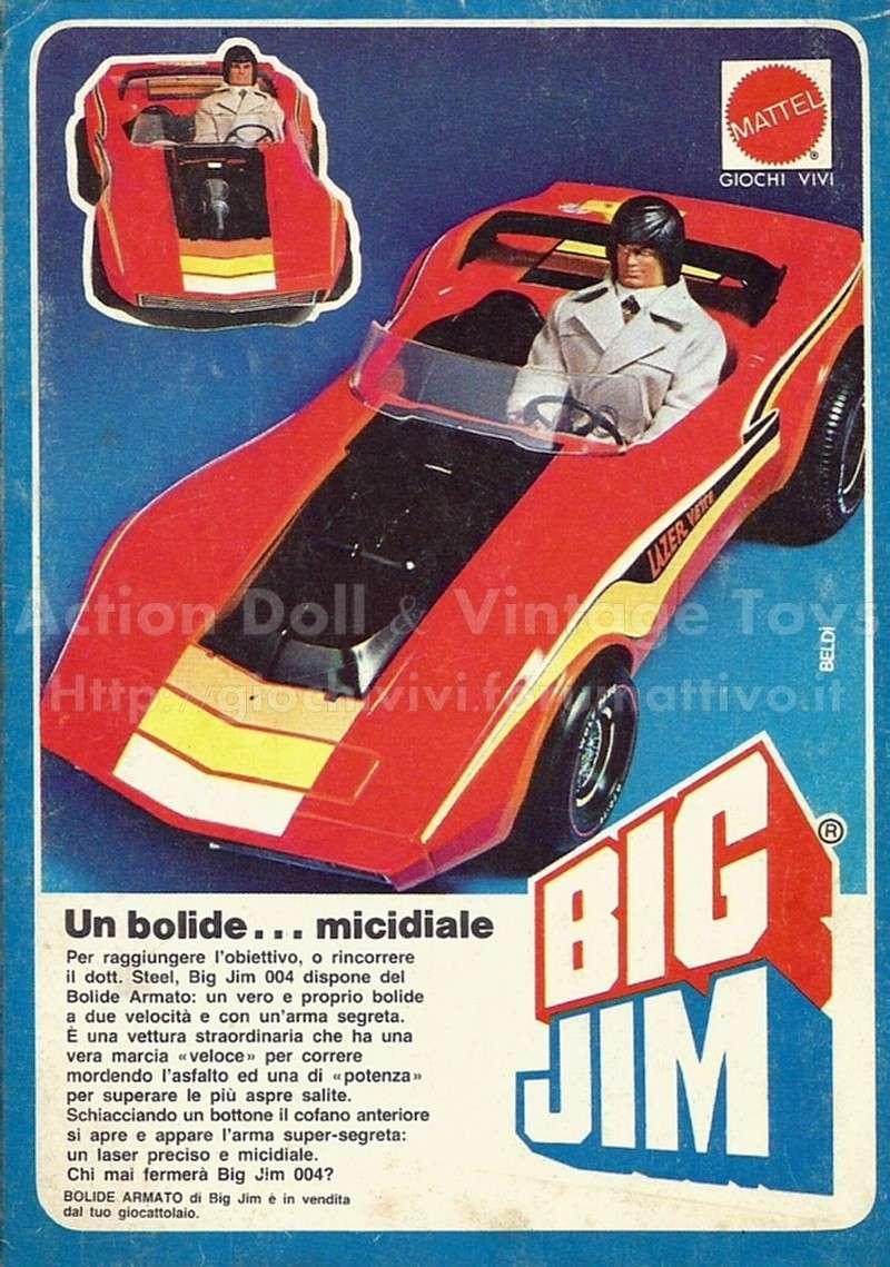 PUBBLICITA'  ITALIANE  DEL PERIODO SPIONAGGIO 1982 - 84 Bolide11