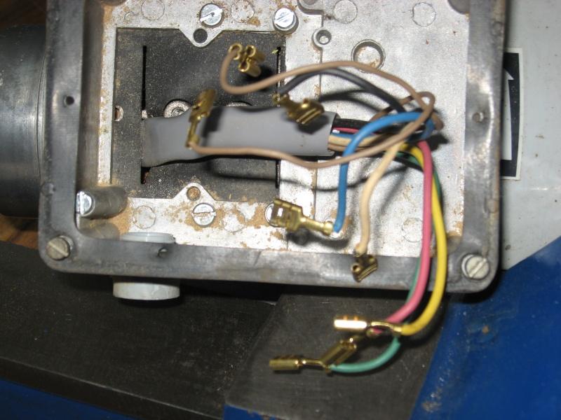 Passage moteur Kity TRI 400 en TRI 230 par Var de Fréquence Moteur10