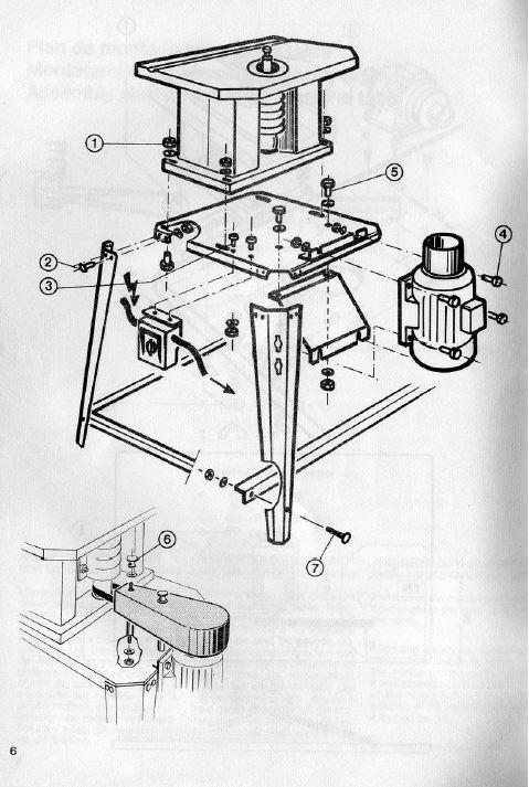 """Montage machines Kity sur """"petite table"""" Plan_d12"""