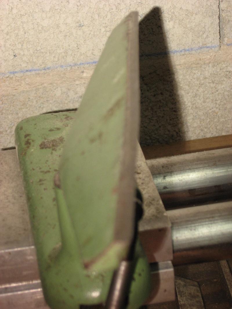 Remise en état Tour à bois Lesto Scintilla GD 100 Porte_12
