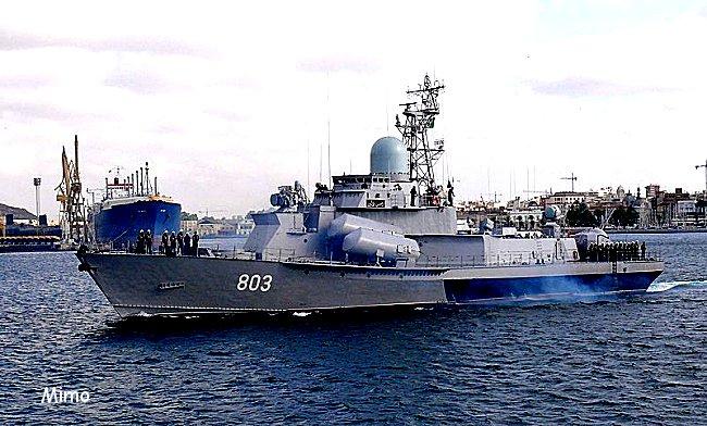 La réplique Algerienne au vaste plan de développement de la marine marocaine Mimoun14