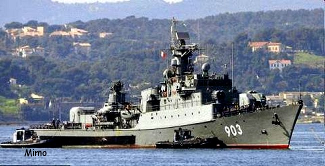 Fregate Algerienne  classe KONI Spmimo10