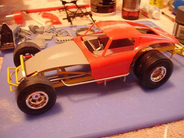 Ferrari GTO Dirt Modified 1-32sl12