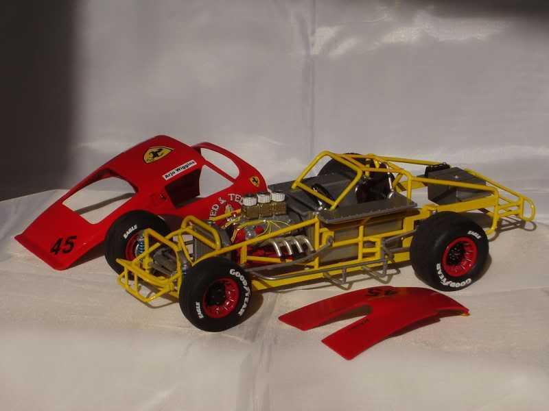 Ferrari GTO Dirt Modified 910