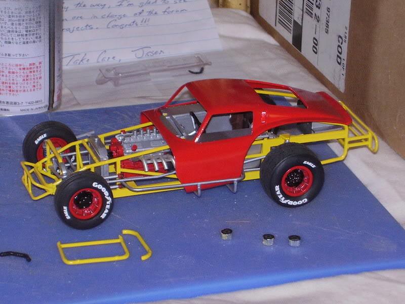 Ferrari GTO Dirt Modified Modelu10