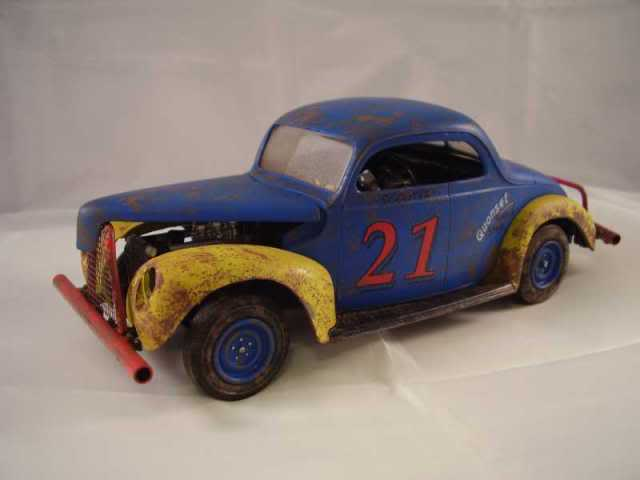 1940 Ford Jalopy Dirt Racer Weathe16