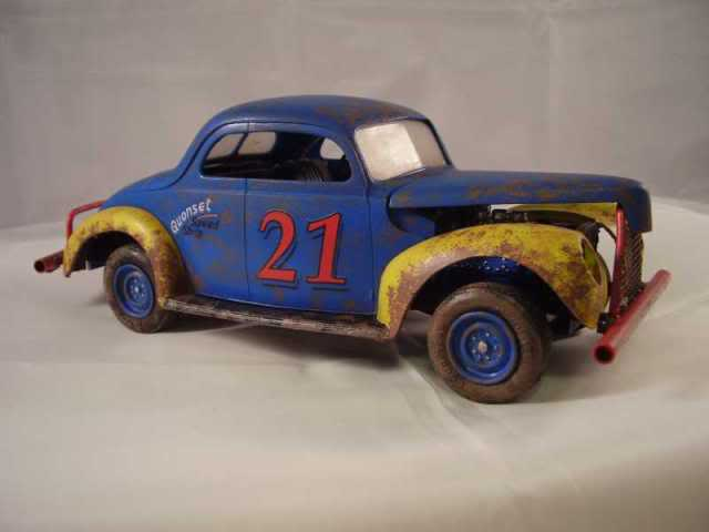 1940 Ford Jalopy Dirt Racer Weathe18