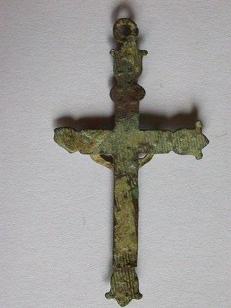 Croix avec extrêmités fleurs de lys - 1ère moitié du XIXème Coixre10