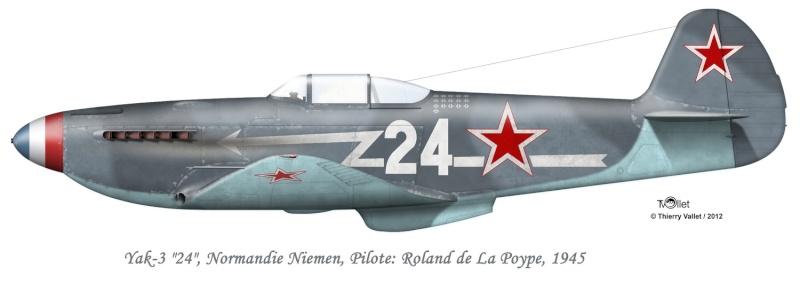 Article sur Maurice Bon: l'as oublié du Normandie-Niemen Yak_3_10