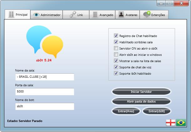 sb0t 5.24 suporte ao idioma PT-BR na interface!! Sb0t_p10