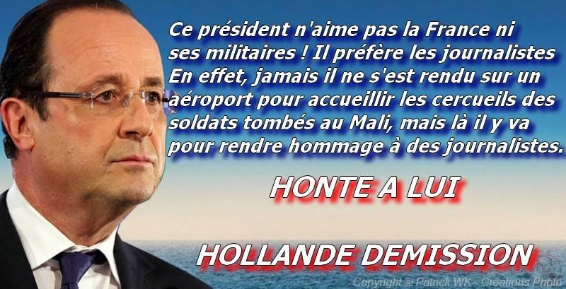 Un président qui n'aime pas les militaires Hollan10