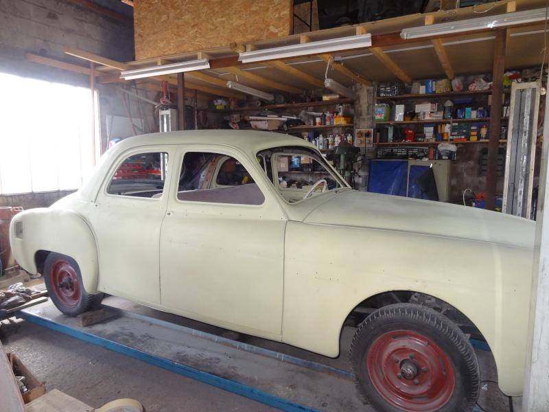 Préparation de la carrosserie avant la mise en peinture Dsc01410