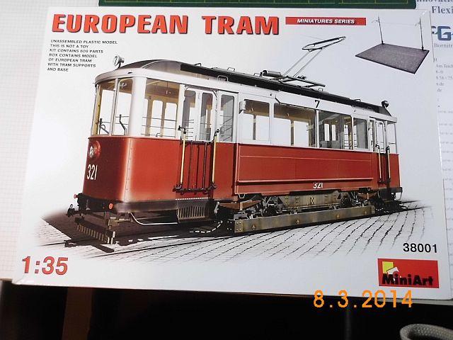 Miniart 38001 - European Tram - 1/35 - Baubericht 1116