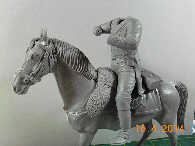 Baubericht französ. Dragoner 1815, MiniArt / 1:16 1128
